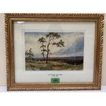 JOHN FULLWOOD, R.B.A; R.B.S.A. BRITISH 1854-1931 Near the Lickey Hills. Signed. Watercolour 6¾' x