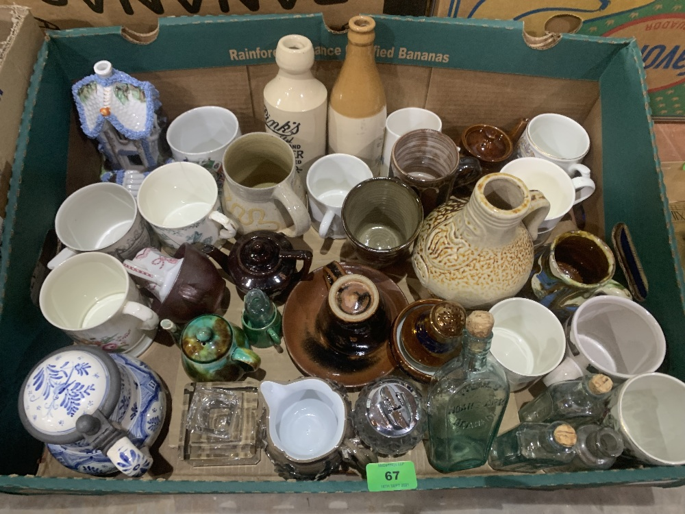 Two boxes of stoneware and other ceramics - Image 2 of 2