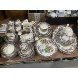 A Pailissy Games Series pattern dinner and tea service comprising 61 pieces