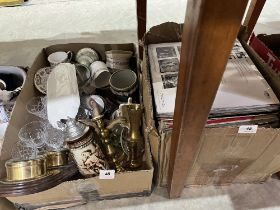 Five boxes of sundries