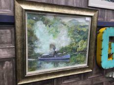 SIR WALTER SCOTT, AN OIL BY ROBIN MILLER
