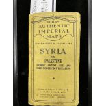 A PHILIPS AUTHENTIC IMPERIAL MAPS - SYRIA AND PALESTINE