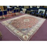 A MIDDLE EASTERN CARPET