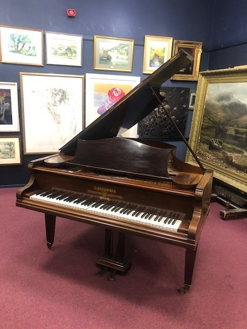 A GRAND PIANO BY C BECHSTEIN - Image 4 of 4