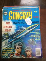A COLLECTION OF EIGHTEEN GERRY ANDERSON 'STINGRAY COMICS