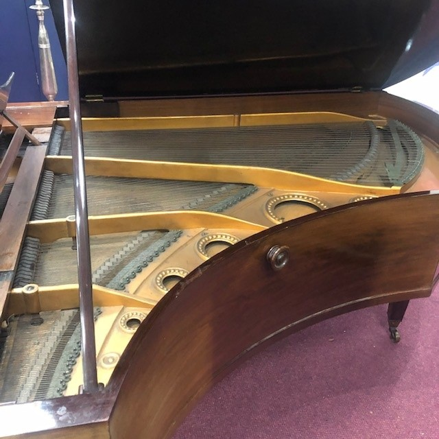A GRAND PIANO BY C BECHSTEIN - Image 3 of 4