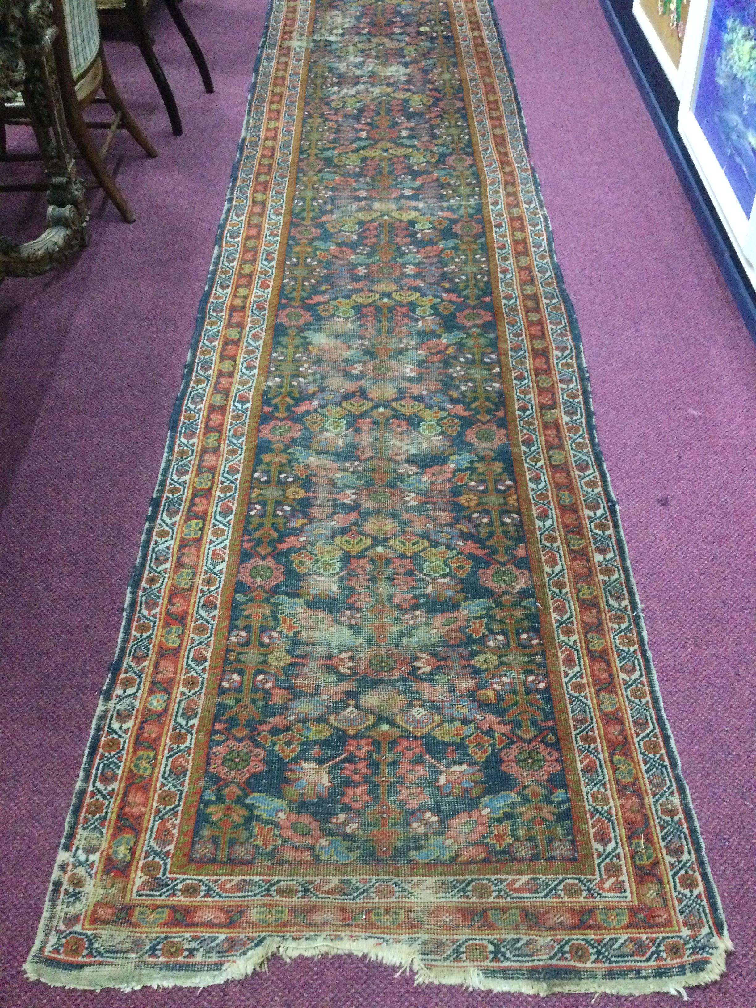 A MIDDLE EASTERN RUG - Image 2 of 2