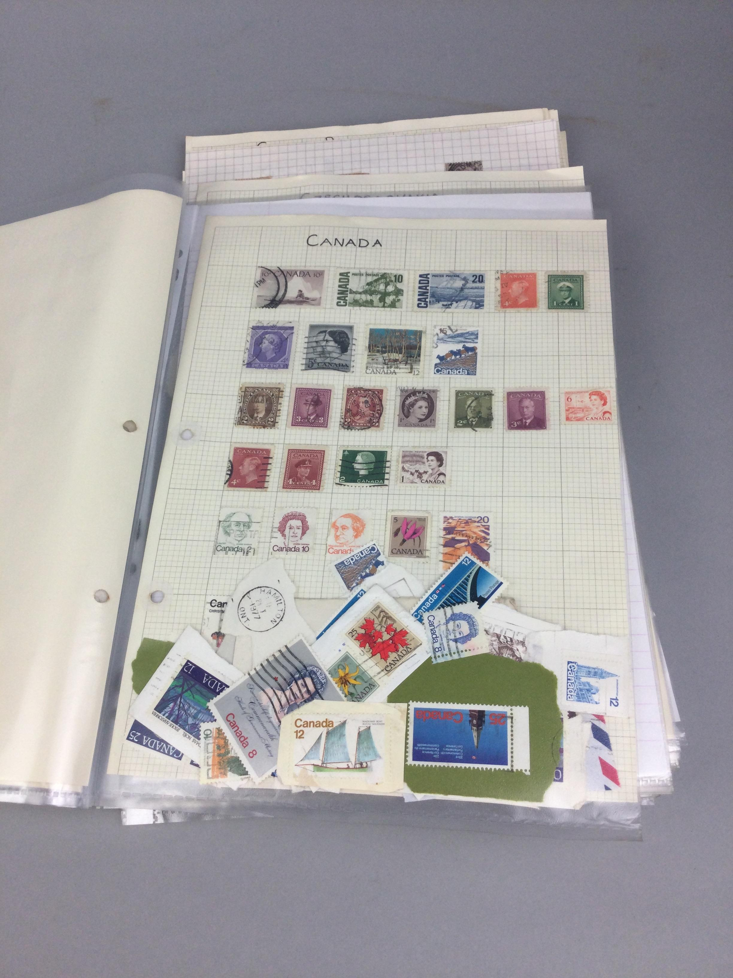A COLLECTION OF BRITISH AND WORLD STAMPS - Image 2 of 5
