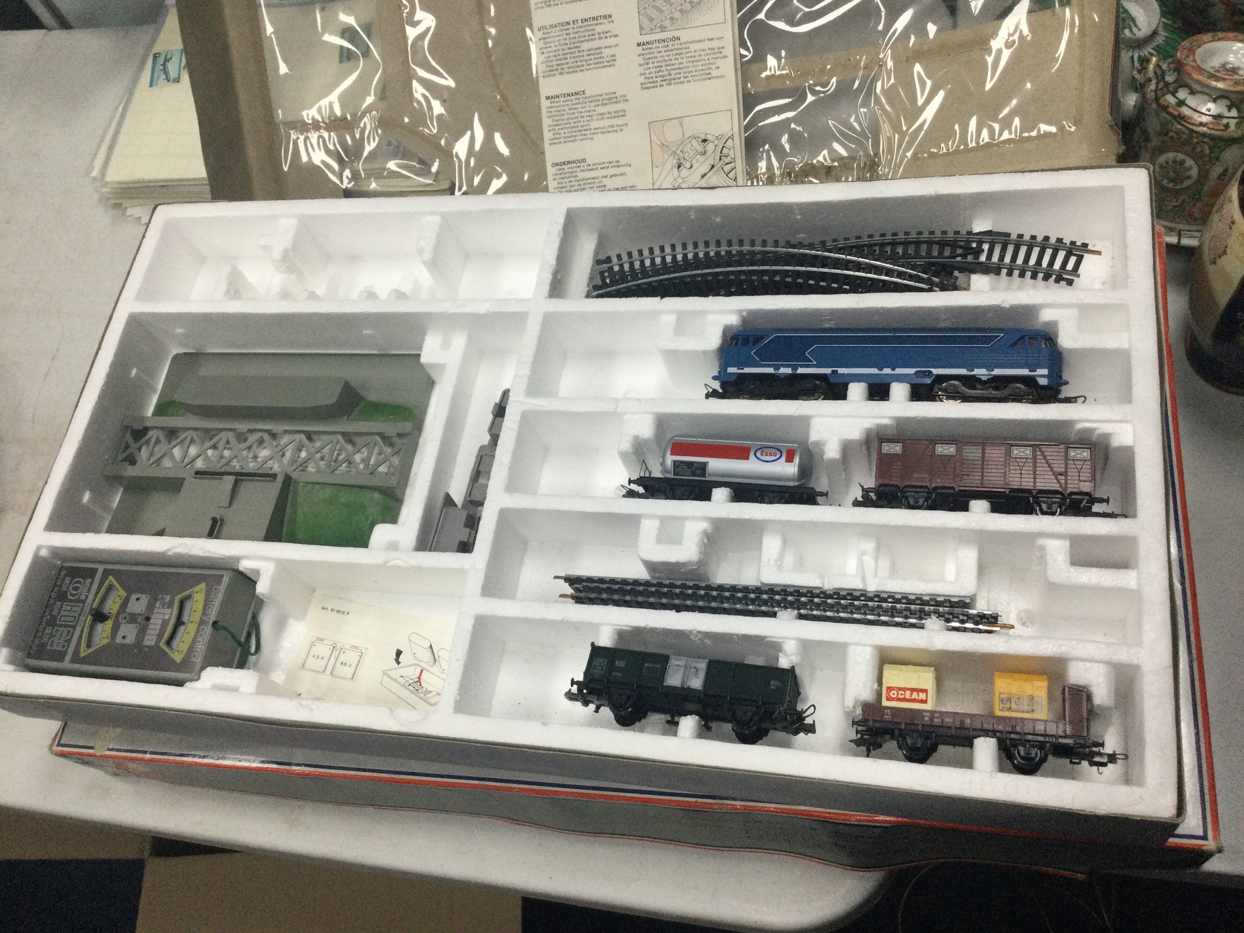 A LOT OF TWO BOXED LIMA RAILWAY SETS - Image 2 of 2