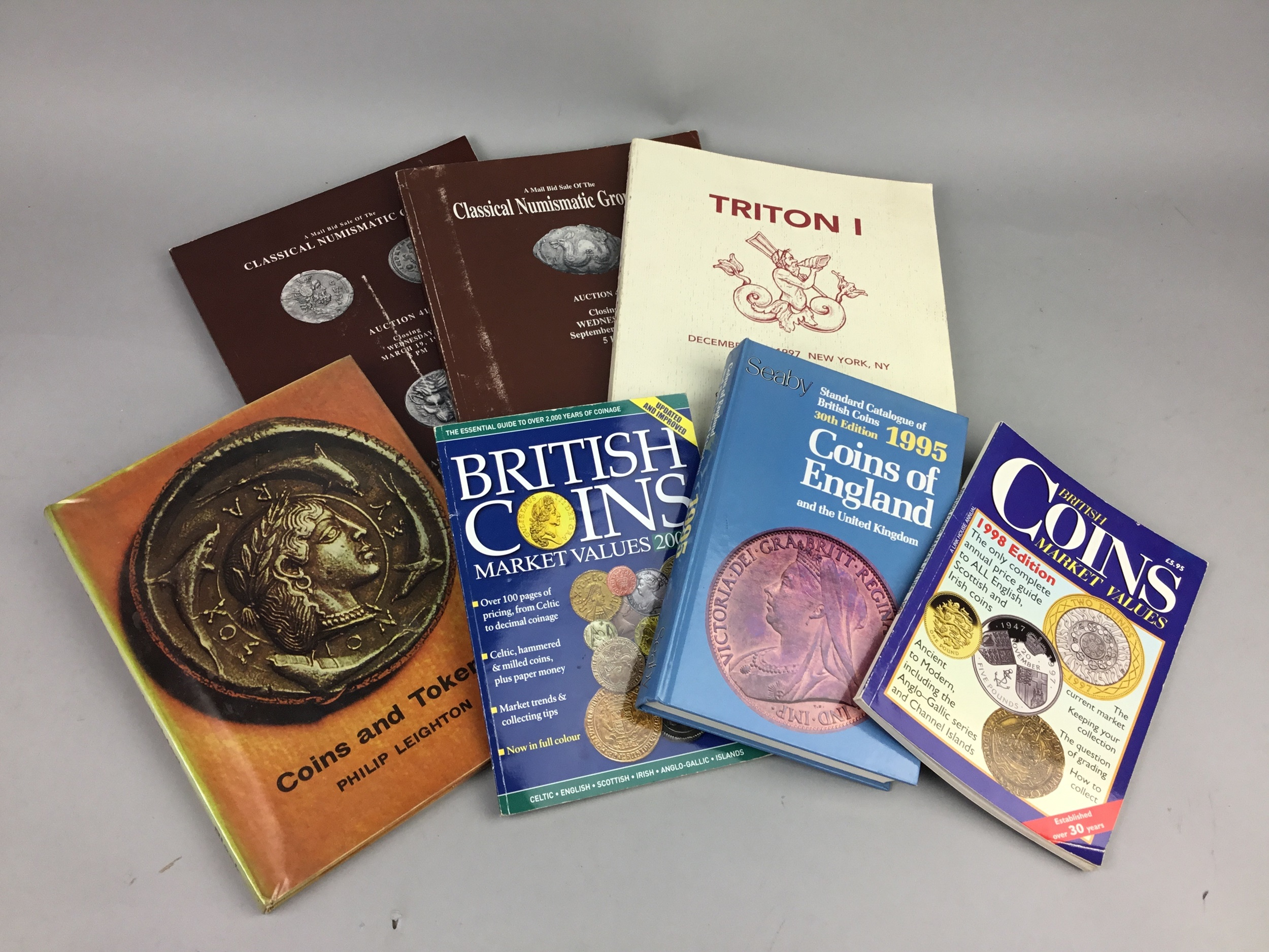 A LOT OF BOOKS RELATING TO COIN COLLECTING - Image 2 of 2
