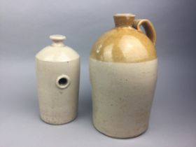 A COLLECTION OF EARLY 20TH CENTURY STONEWARE BOTTLES