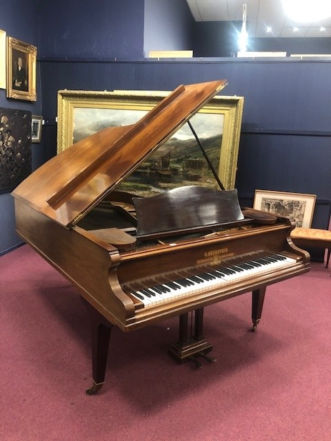 A GRAND PIANO BY C BECHSTEIN - Image 2 of 4