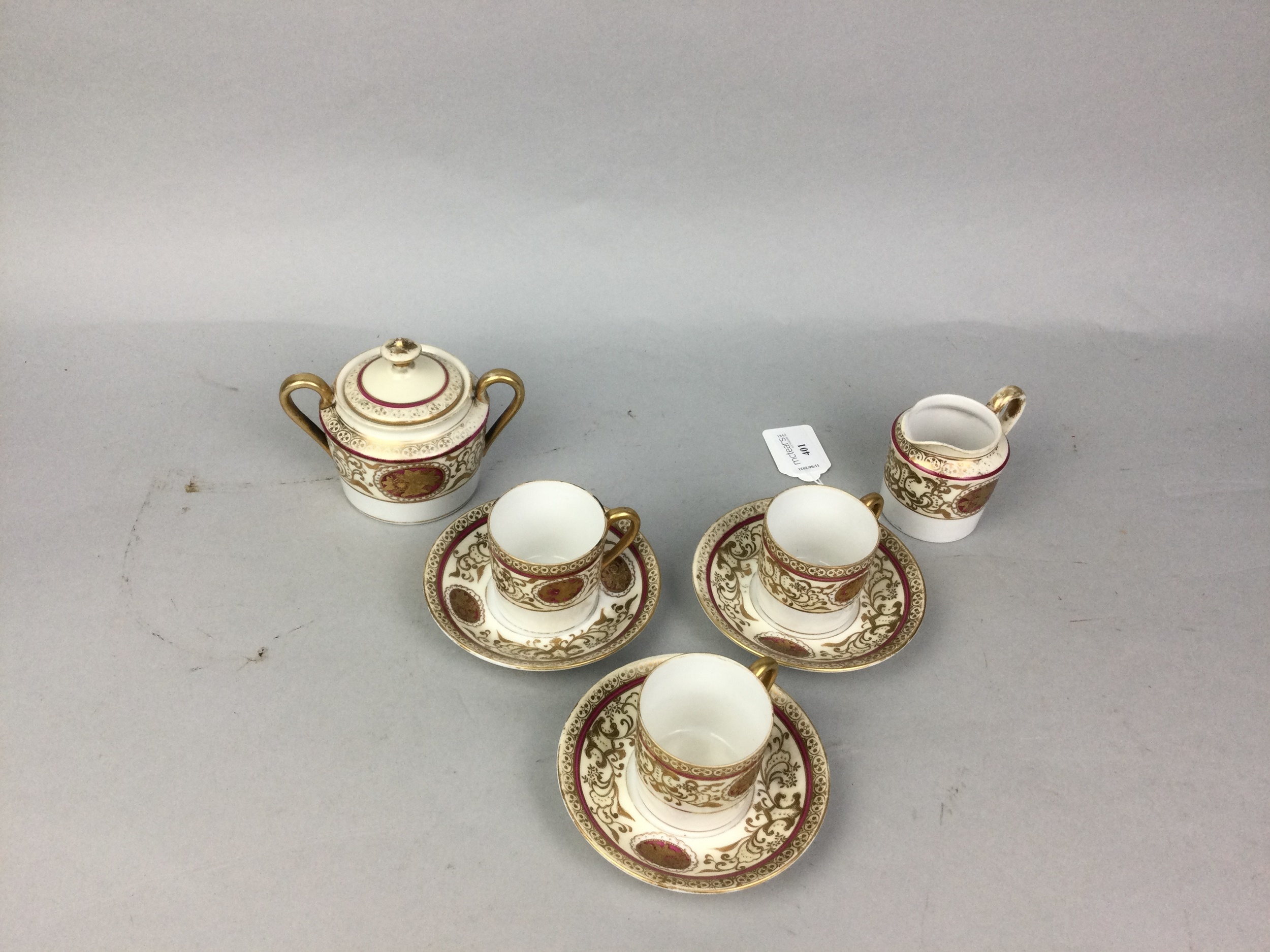 A JAPANESE PART COFFEE SERVICE AND OTHER CERAMICS