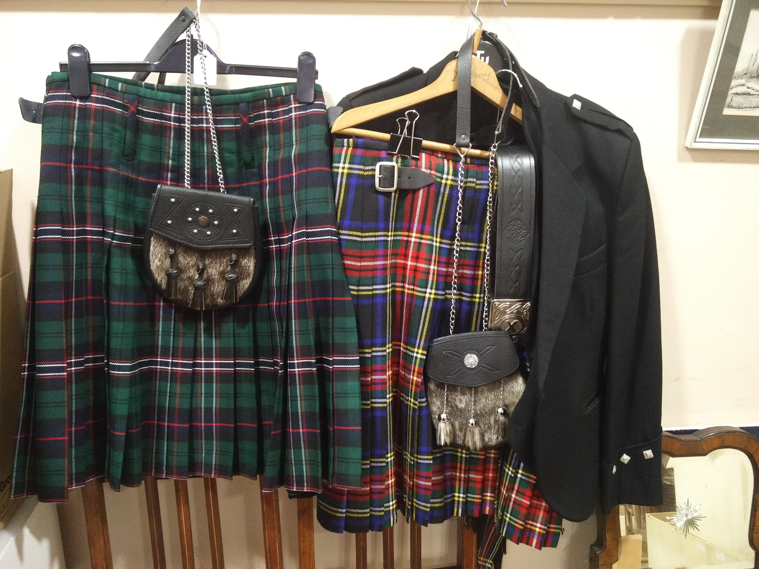 A GENTLEMAN'S KILT AND ANOTHER