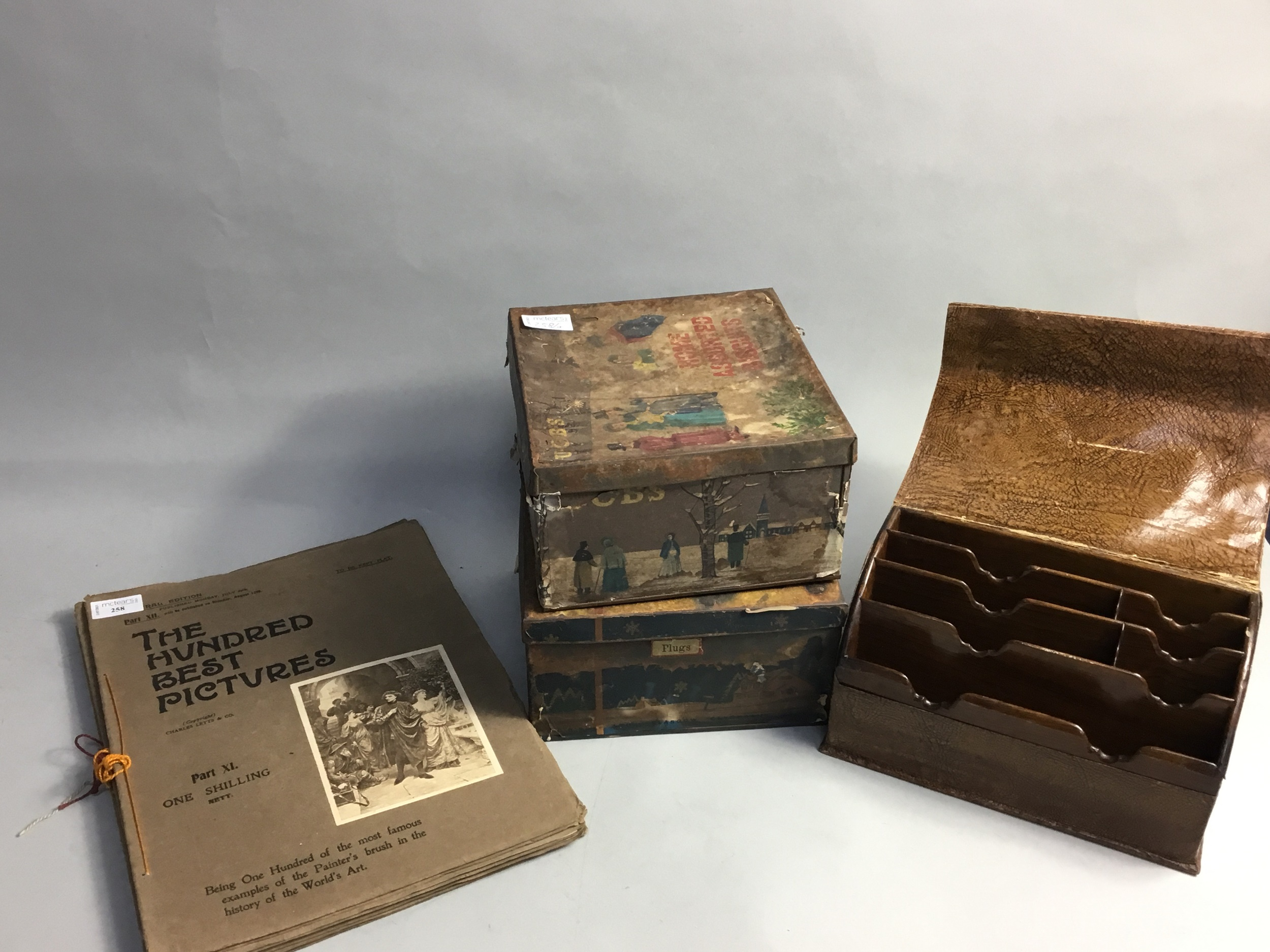 A LOT OF SEVEN VOLUMES OF THE HUNDRED BEST PICTURES