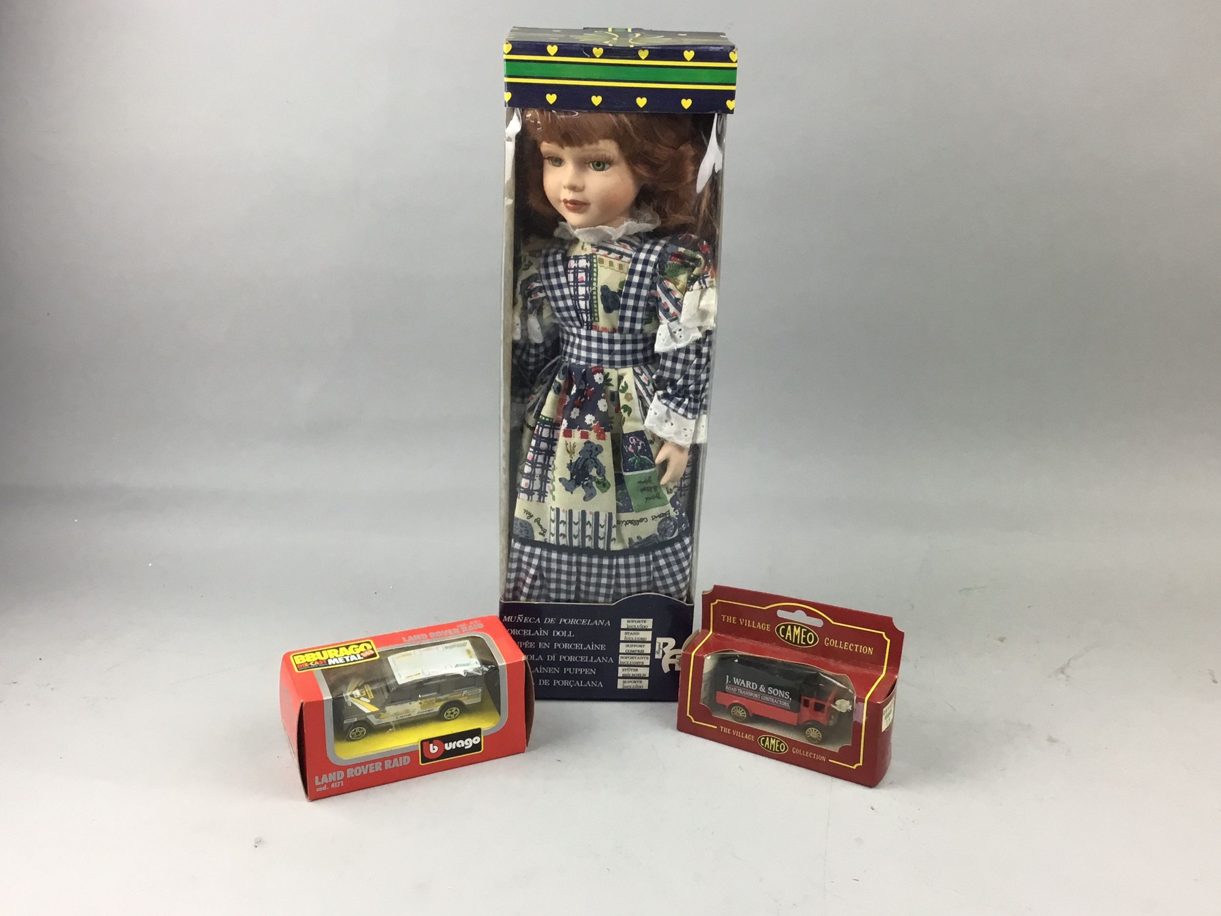A COLLECTION OF BOXED MODEL VEHICLES