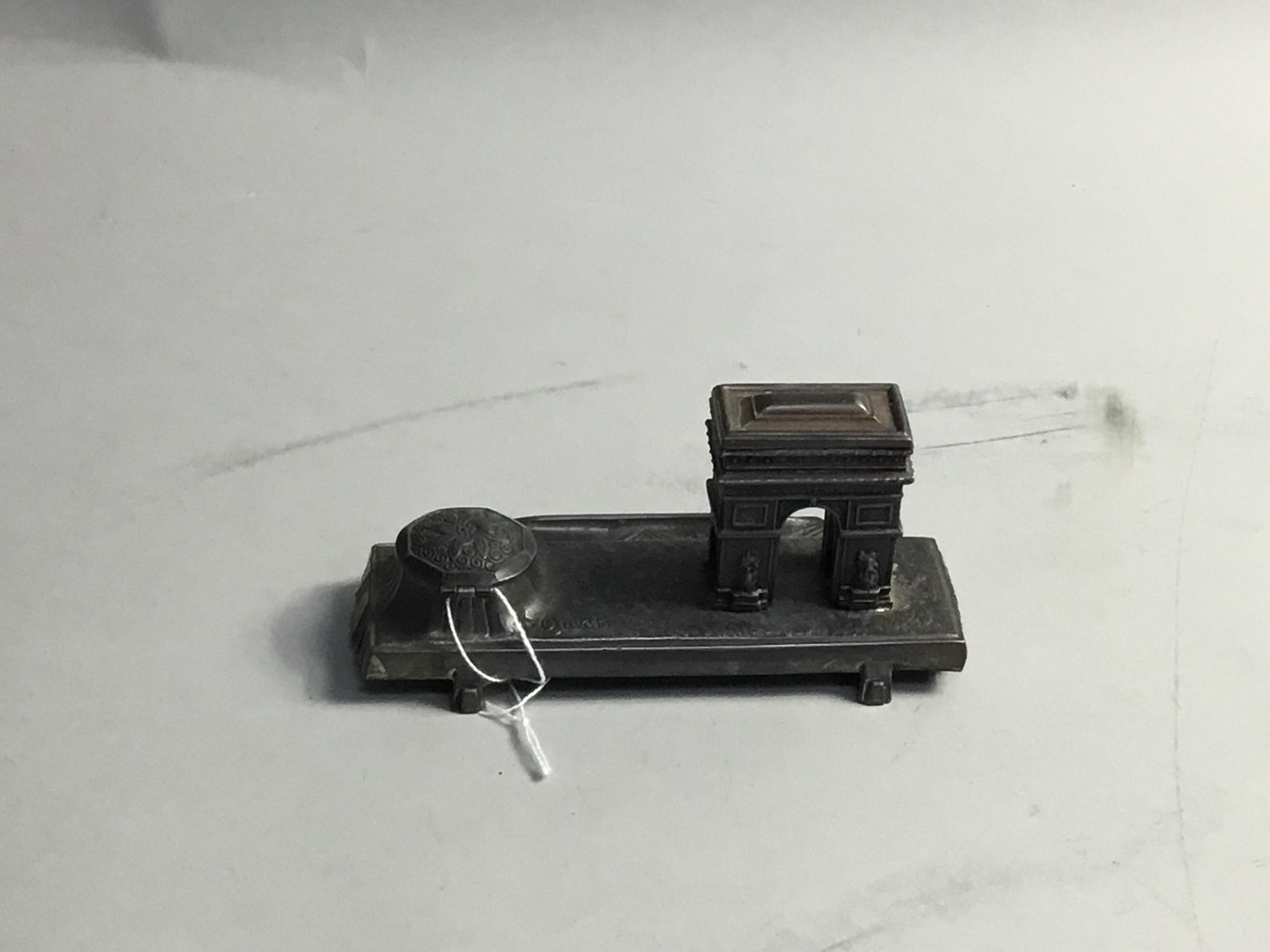 A FRENCH INKSTAND