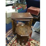 AN EASTERN INLAID OCCASIONAL TABLE