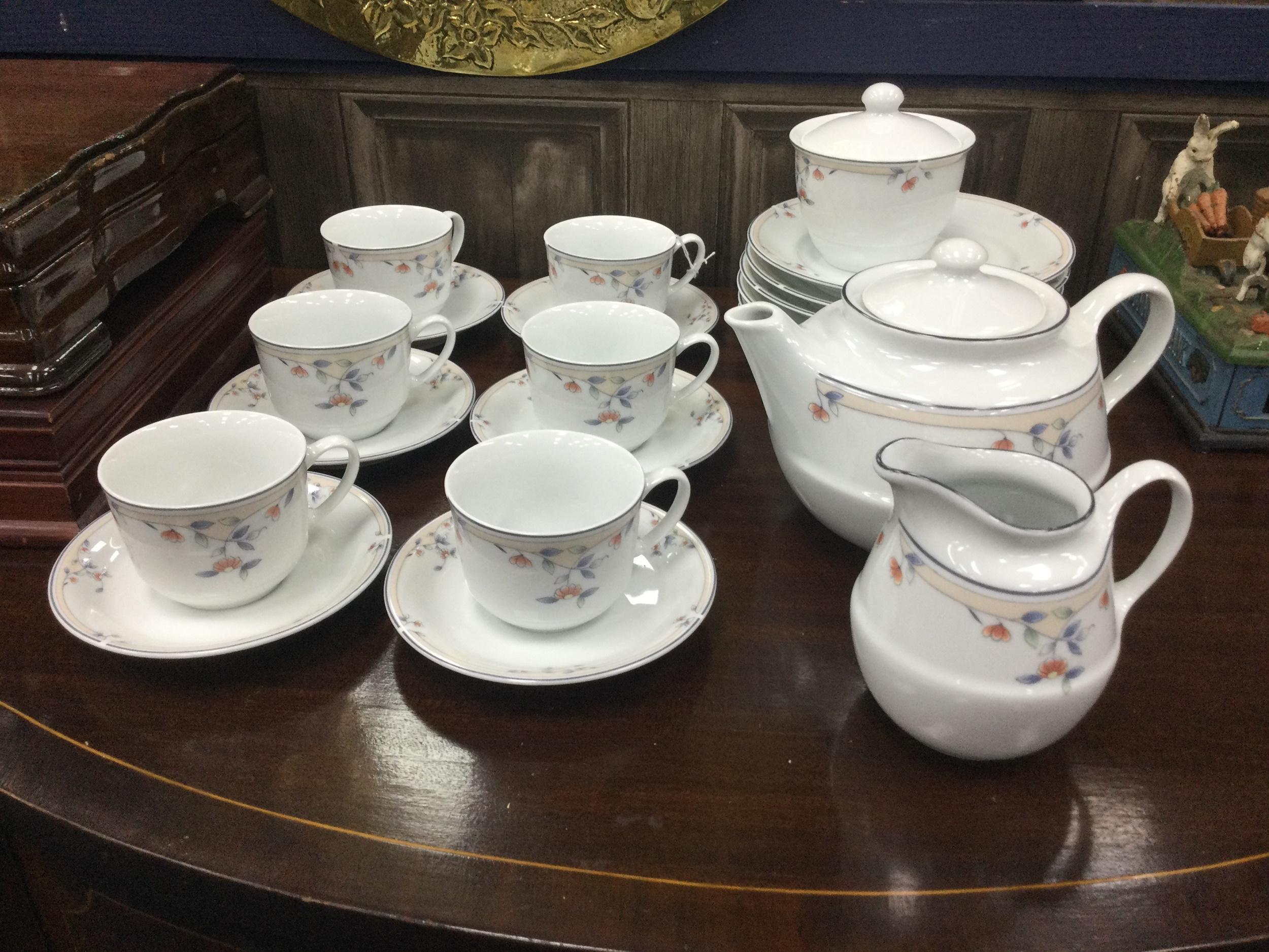 A PRINCESS HOUSE 'MELODY' PATTERN TEA SERVICE