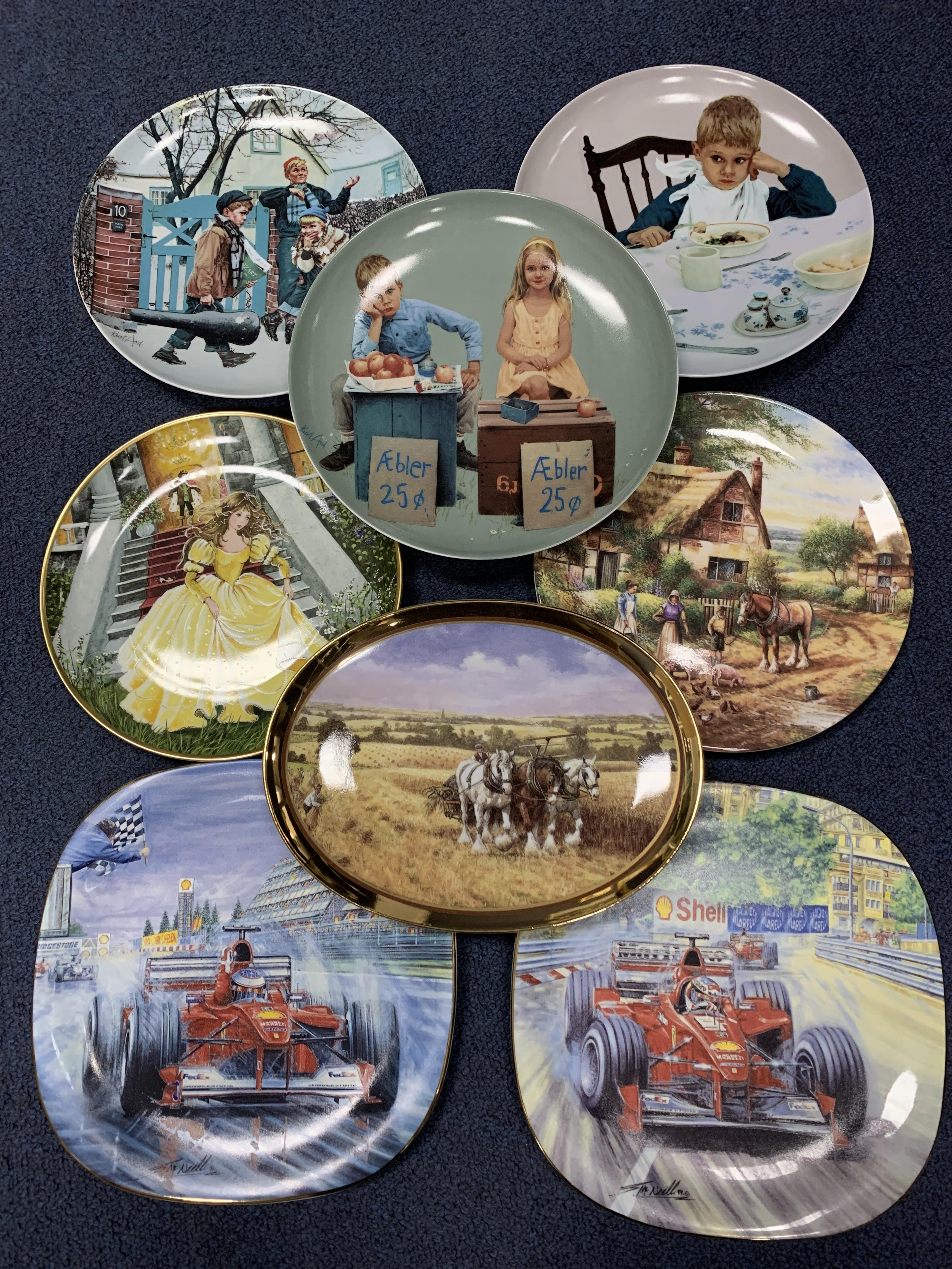 A LOT OF COLLECTOR'S PLATE