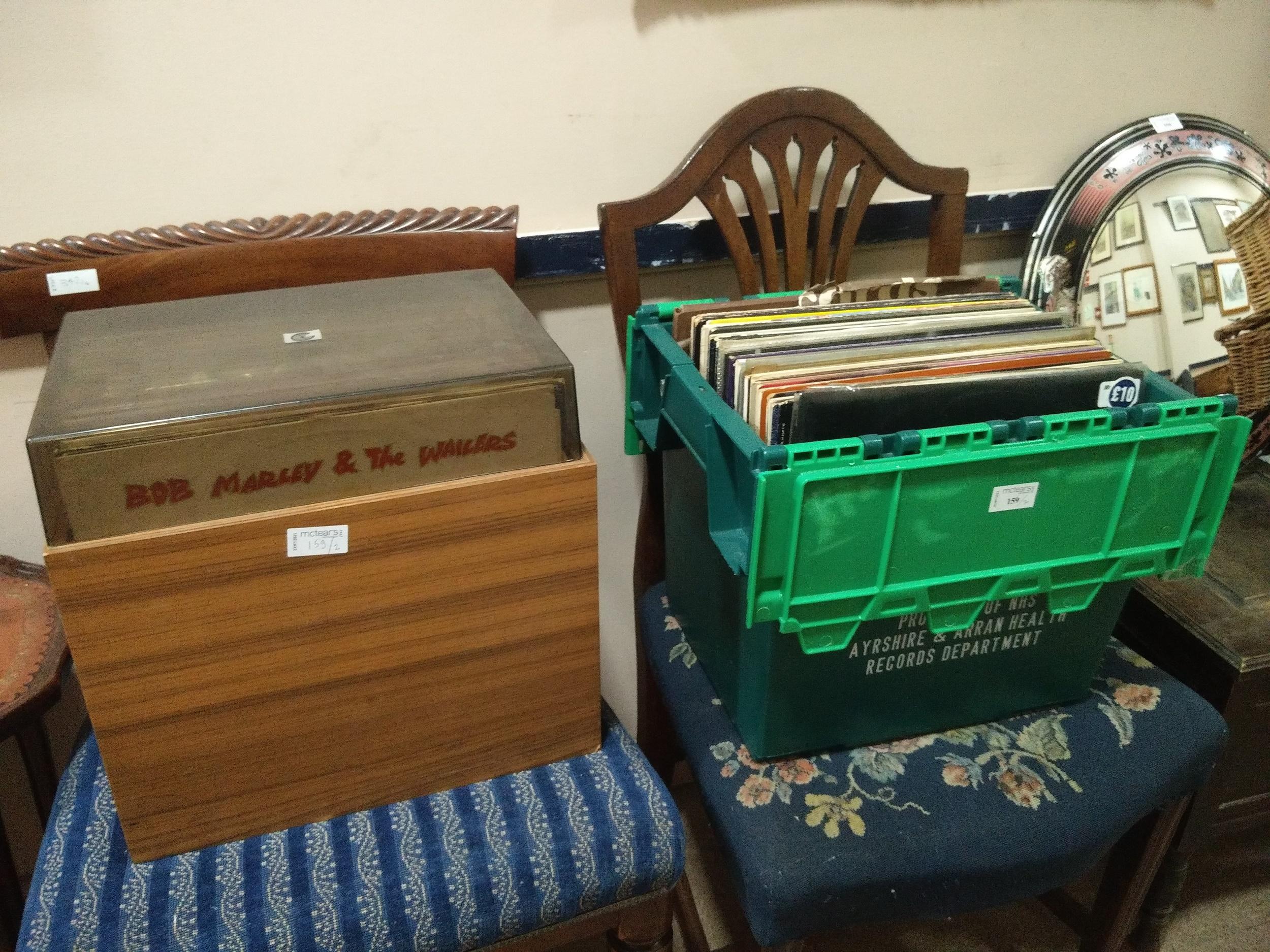 A LOT OF LP RECORDS