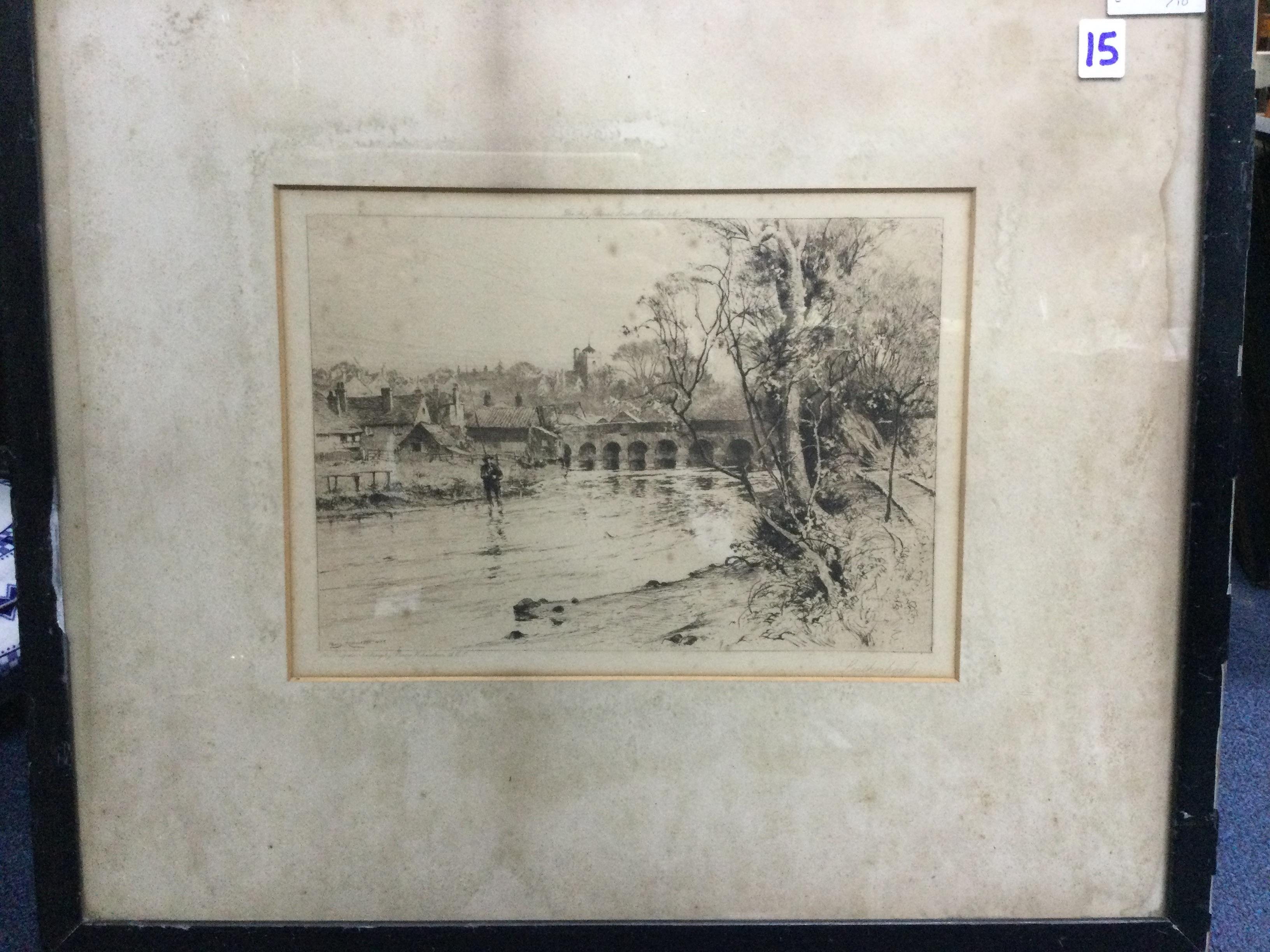 A COLLECTION OF VARIOUS ETCHINGS