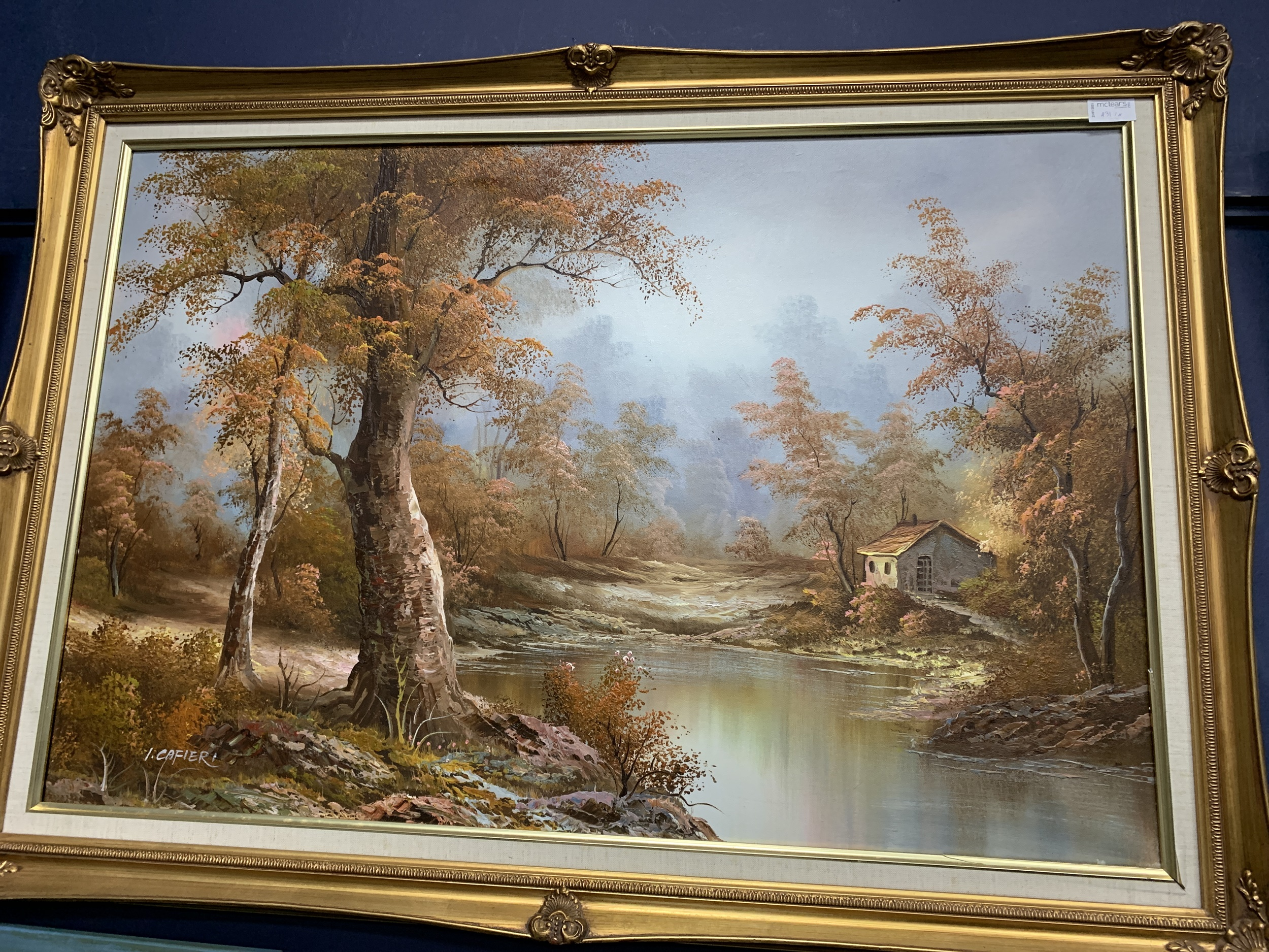 GARRY BURLA, BOATING SCENE, FRAMED ACRYLIC PAINTING, ALONG WITH OTHER PICTURES - Image 2 of 4