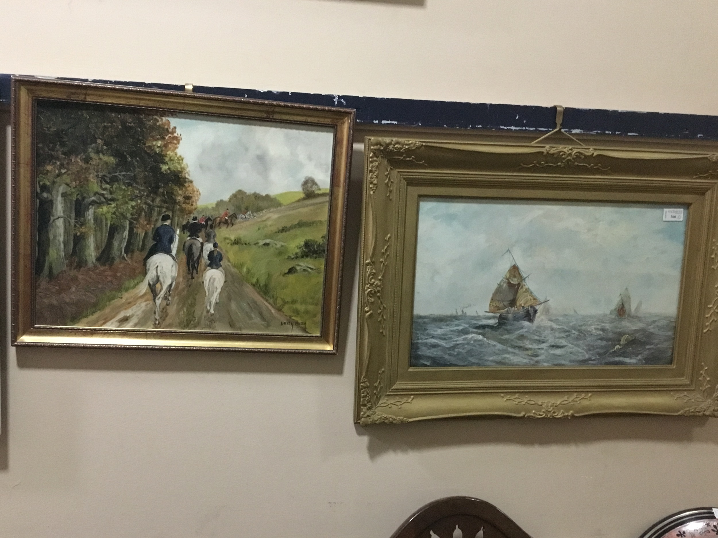 A LOT OF PICTURES AND PRINTS INCLUDING SEASCAPE WATERCOLOURS - Image 3 of 3