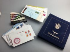 A LOT OF FIVE STAMP ALBUMS