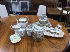 AN AYNSLEY PART COFFEE SERVICE AND OTHER CERAMICS