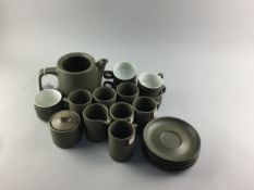A COVANCROFT PART COFFEE SERVICE AND OTHERS
