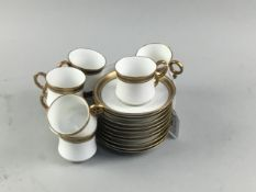 AN EARLY 20TH CENTURY COFFEE SERVICE