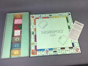 A VINTAGE MONOPOLY BOARD GAME