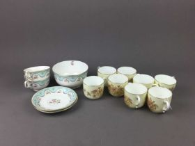 A LOT OF TEA SERVICES AND OTHER CERAMICS