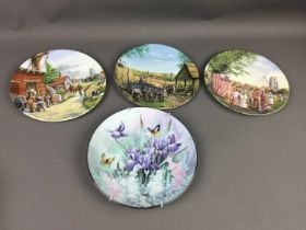 A COLLECTION OF TWENTY FIVE CABINET PLATES