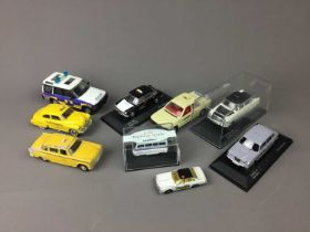 A COLLECTION OF CORGI, LLEDO, OXFORD AND MATCHBOX MODEL VEHICLES