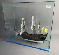 A MODEL SHIP IN CASE