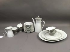 A ROSENTHAL PART TEA AND DINNER SERVICE