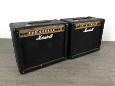A LOT OF THREE AMPLIFIERS