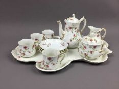 A FRENCH CABARET TEA SERVICE AND OTHER CERAMICS