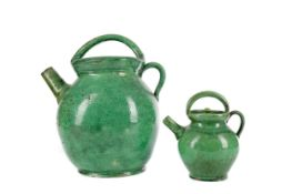 AN EARLY 20TH CENTURY CHINESE STONEWARE TEA POT