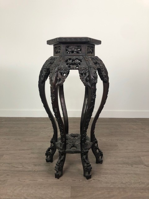A CHINESE IRONWOOD PLANT TABLE