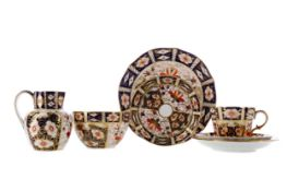 A COLLECTION OF ROYAL CROWN DERBY TEA WARE