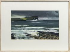 BAY OF SKAILL, A GOUACHE BY ALEXANDER ROBB