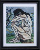 SORROW, A PASTEL BY KEVIN O'ROURKE