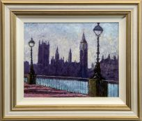 WESTMINSTER, AN OIL BY TIMMY MALLET