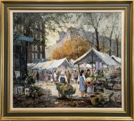 THE MARKET, AN OIL BY REIN SIEVERS