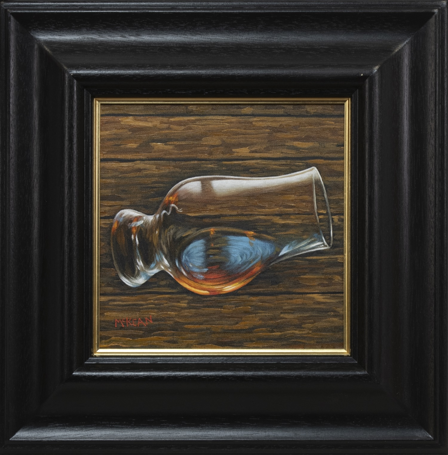 ONE TOO MANY, AN OIL BY GRAHAM MCKEAN