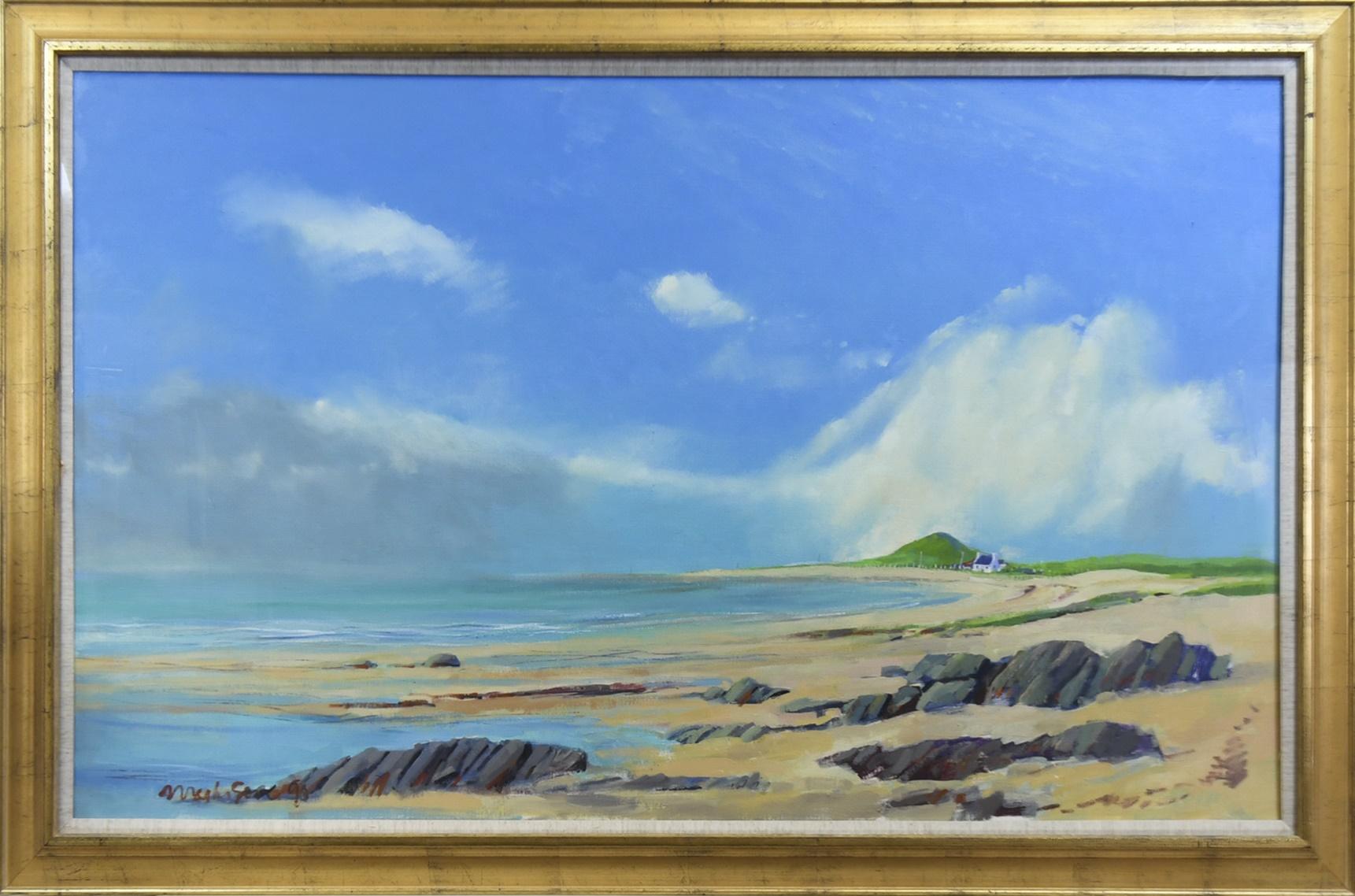 SOUTH UIST, AN OIL BY JOHN MATHISON