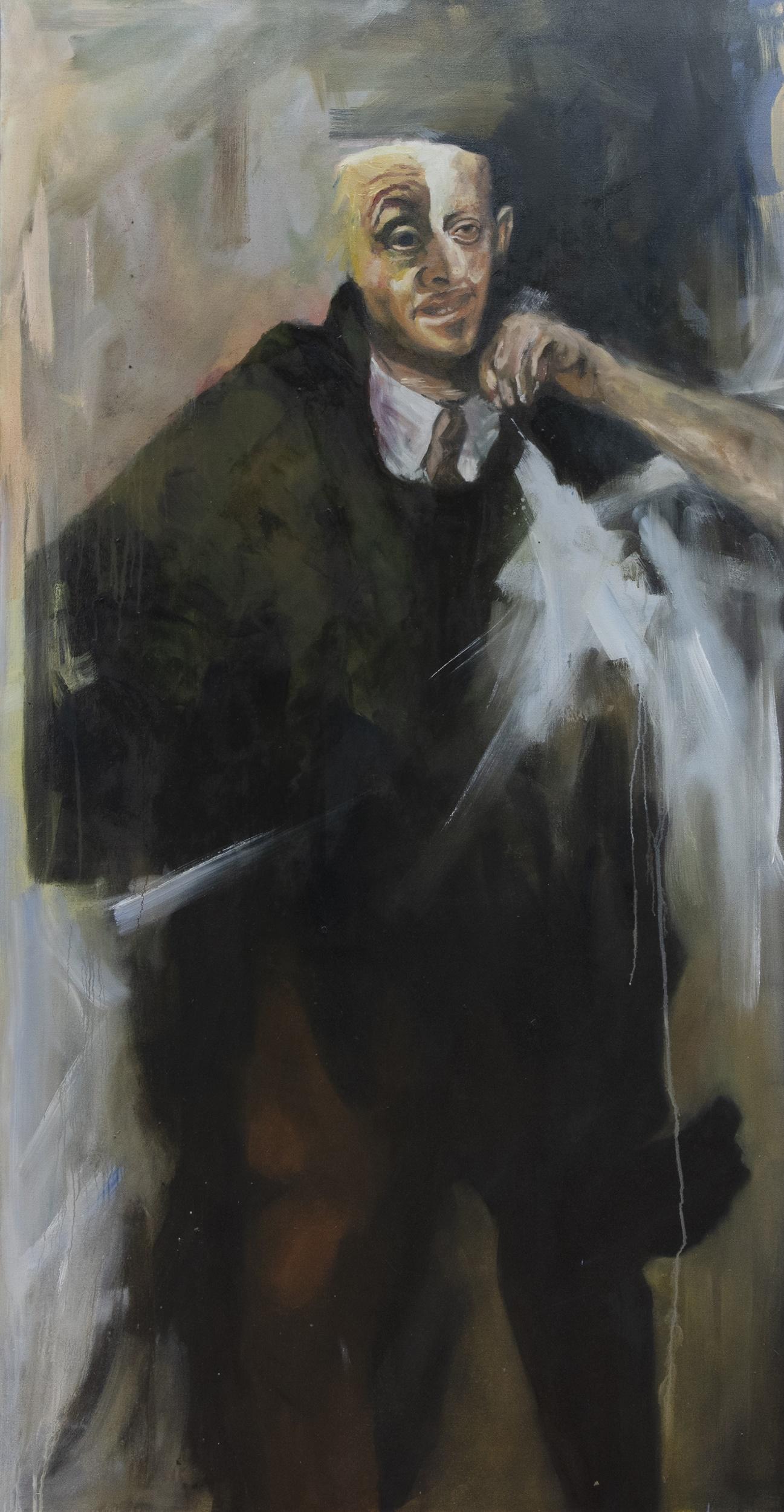 MENIPPUS, AN OIL BY PHILIP GURREY